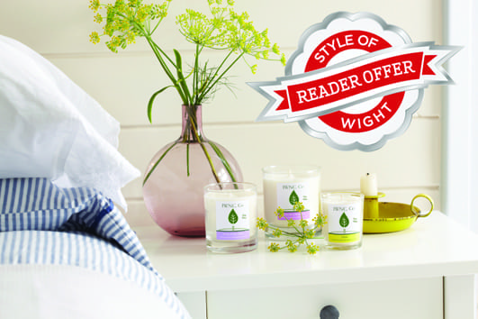 Win a Year's Supply of IW Natural Candles for your home
